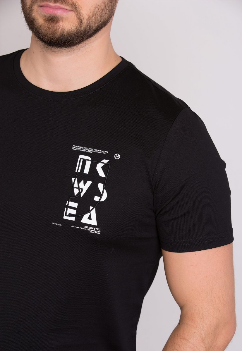 Футболка Trend Collection 62007 Черный - Фото 1