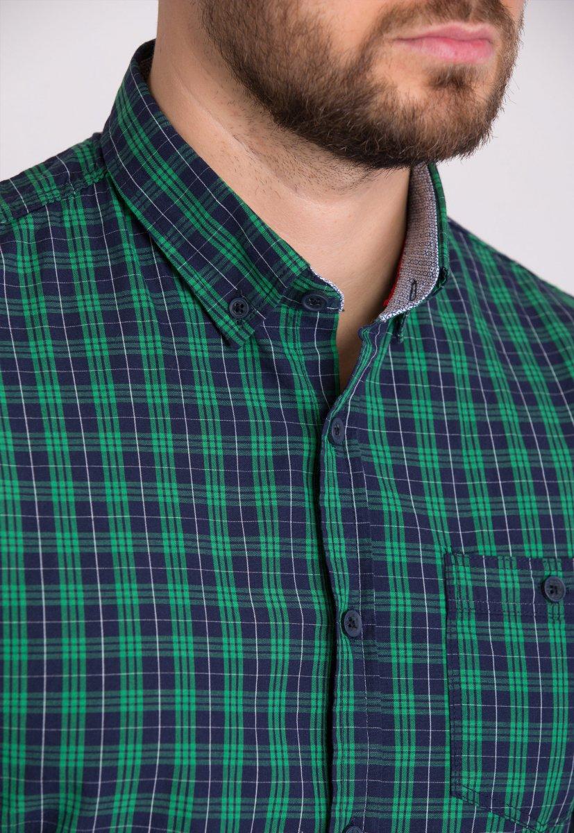 Мужская рубашка Trend Collection 32320 Зеленый - Фото 1