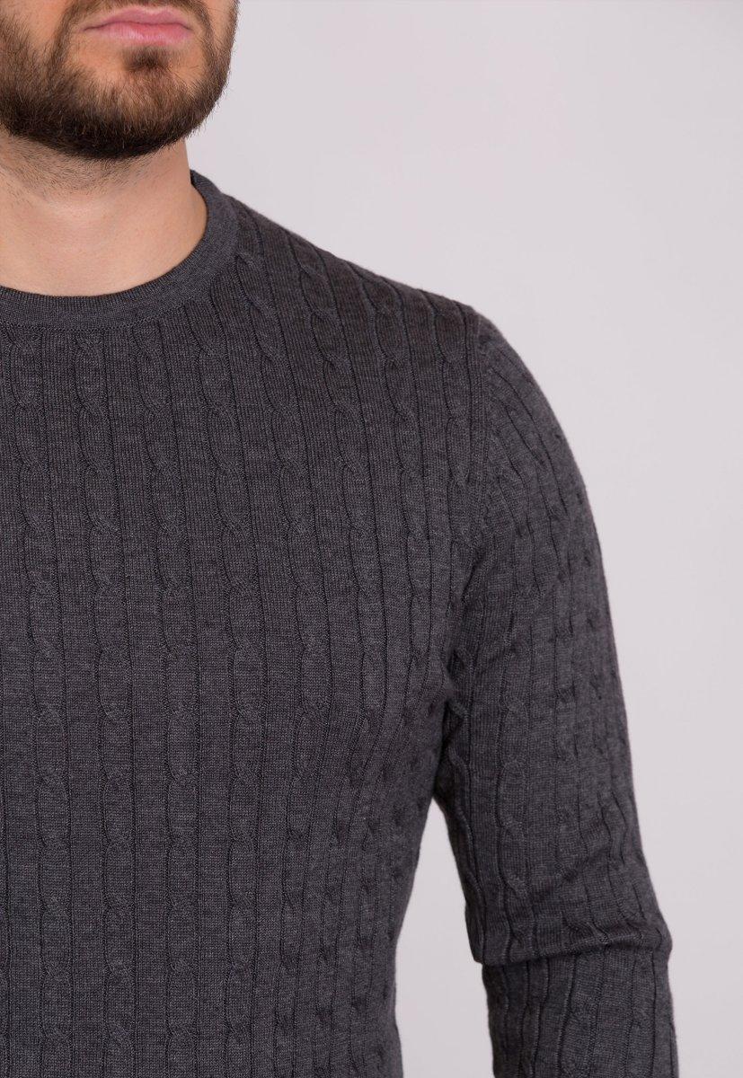 Свитер Trend Collection 33187 Серый - Фото