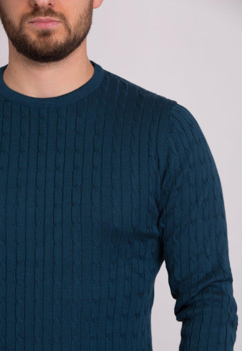 Свитер Trend Collection 33187 Индиго - Фото