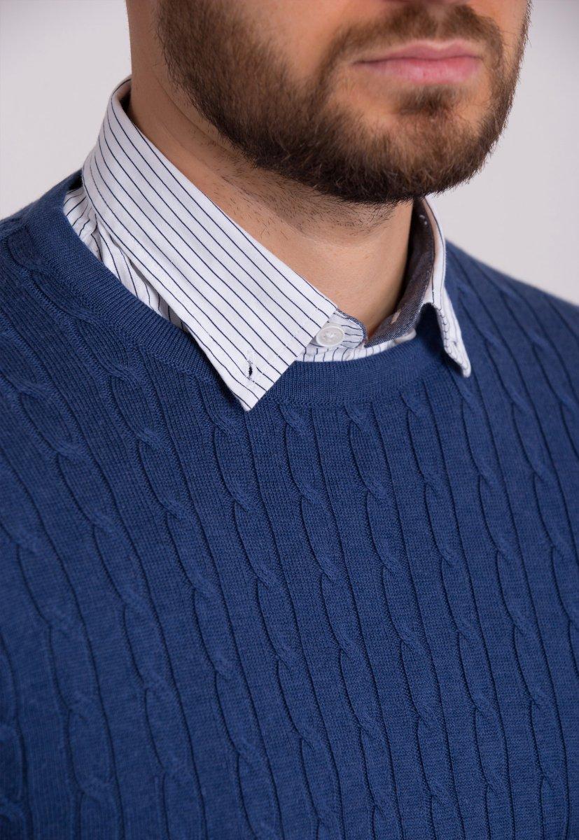 Свитер Trend Collection 33187 Синий - Фото