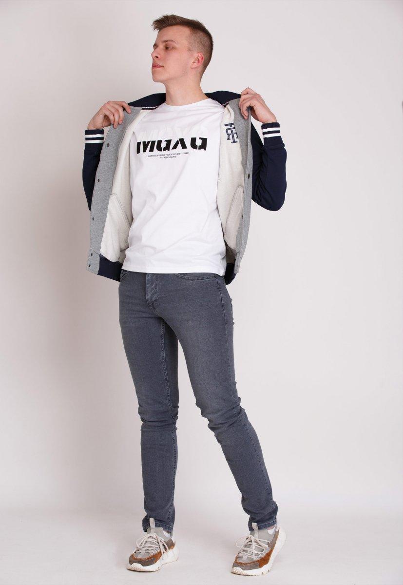Куртка Trend Collection 69808 Серый + синий - Фото 1