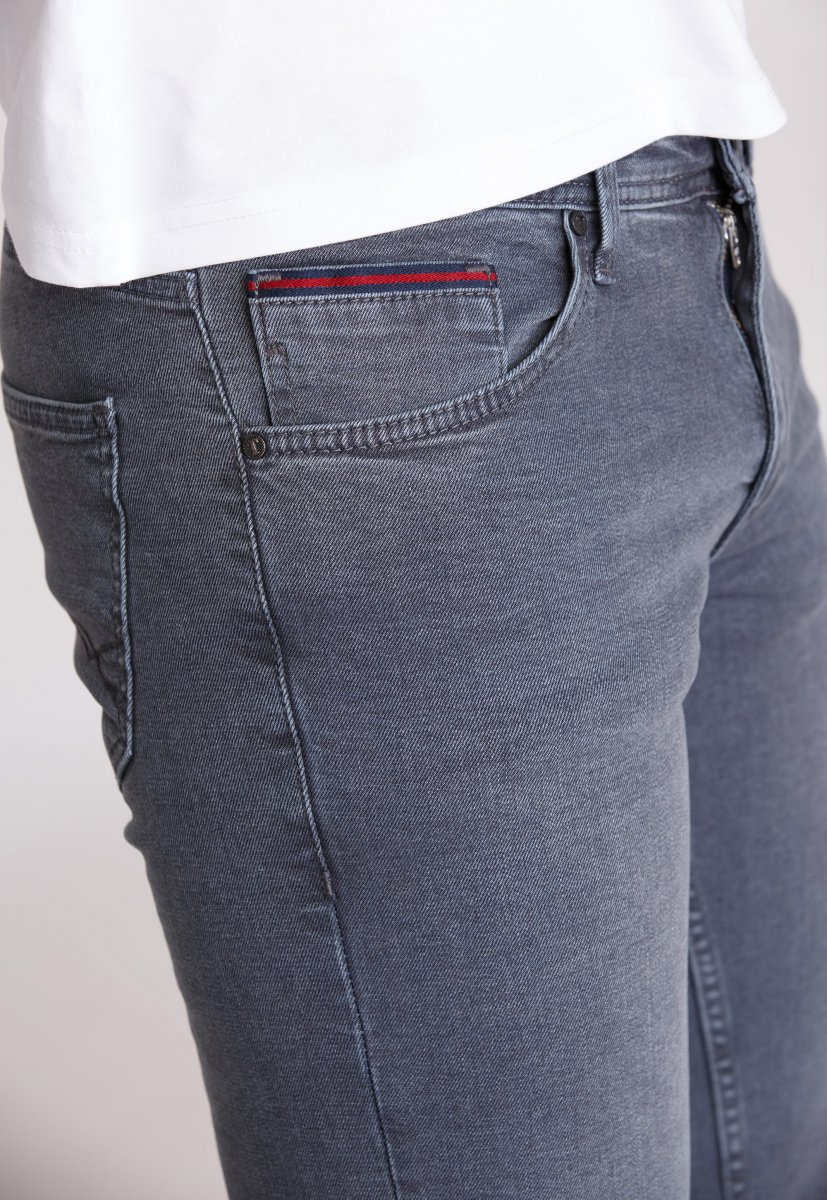 Джинсы Trend Collection 12576 Серый (Gri) - Фото 1