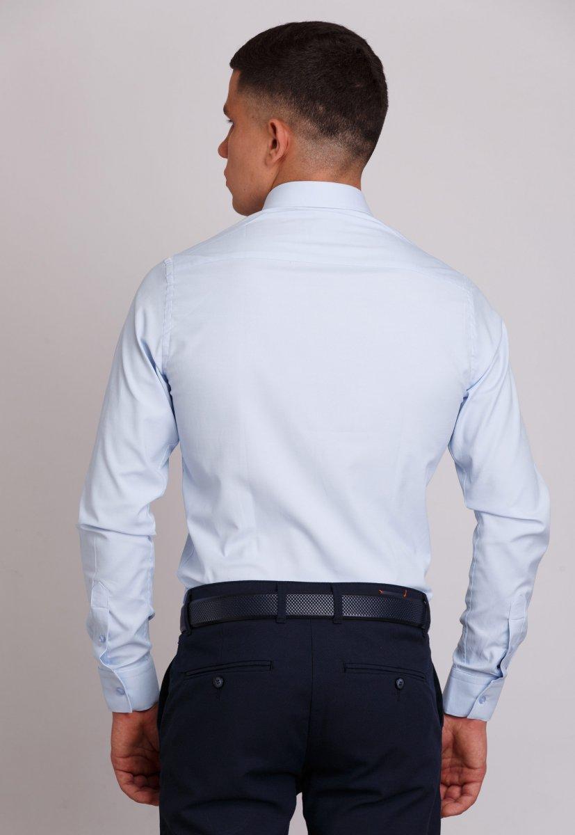 Рубашка Trend Collection 406 Небесный - Фото 1