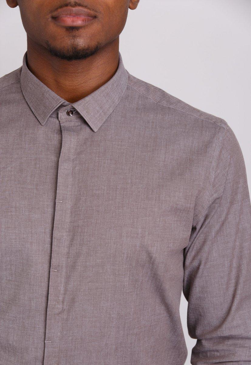 Рубашка Trend Collection 0804 Бежевый - Фото 1
