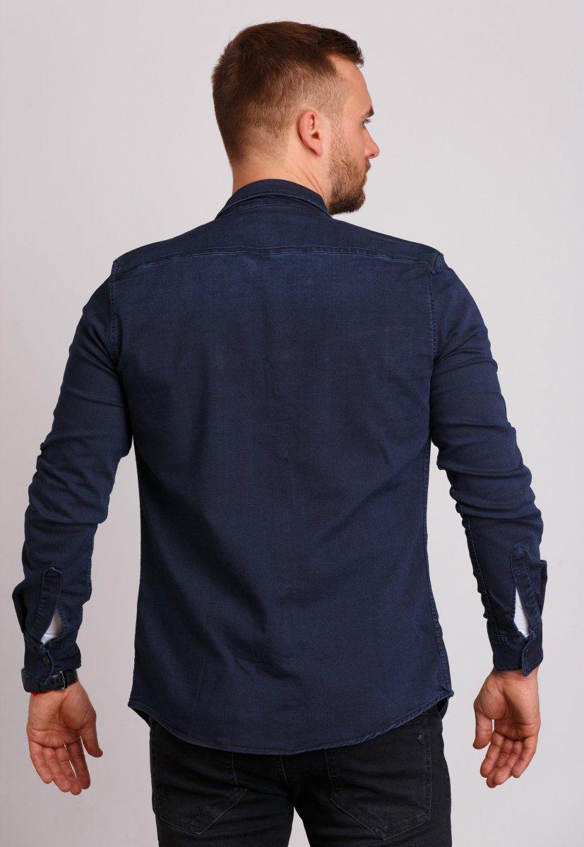 Рубашка Trend Collection 69 Темно-синий - Фото 1