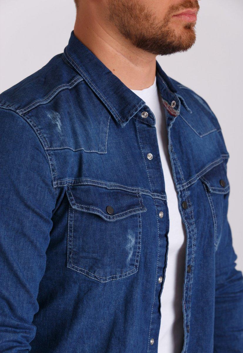 Рубашка Trend Collection 146 Светло-синий - Фото