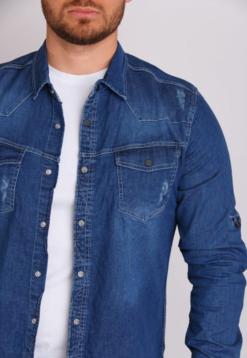 Рубашка Trend Collection 146 Светло-синий - Фото 1
