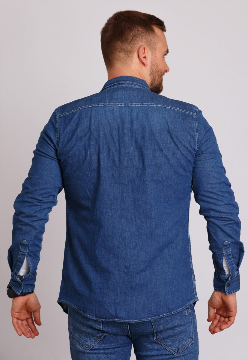 Рубашка Trend Collection 146 Светло-синий - Фото 2