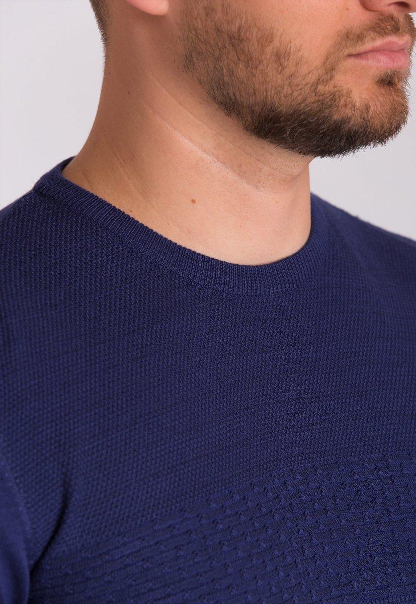 Свитер Trend Collection 0318-2 Синий (04) - Фото 1