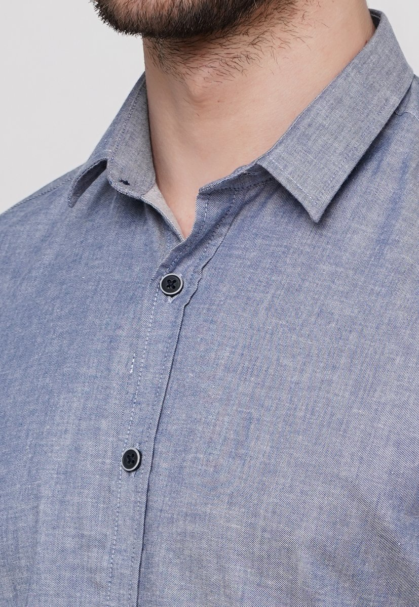 Рубашка Trend Collection 015 Серый - Фото 1