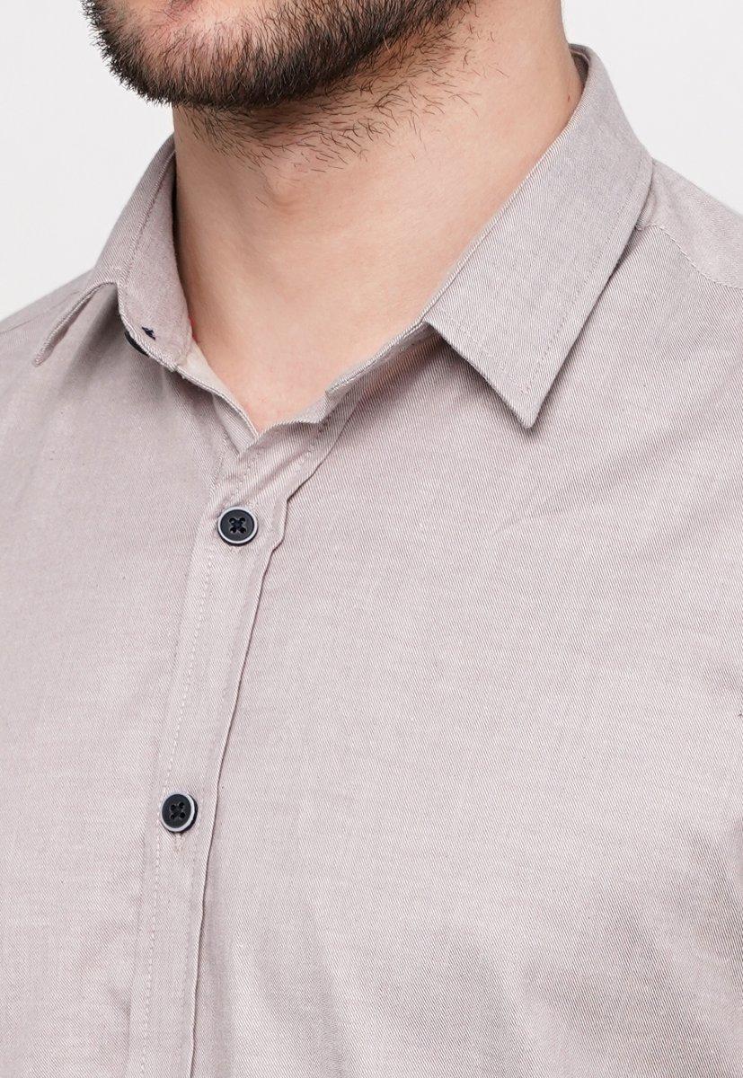 Рубашка Trend Collection 015 Бежевый - Фото 1