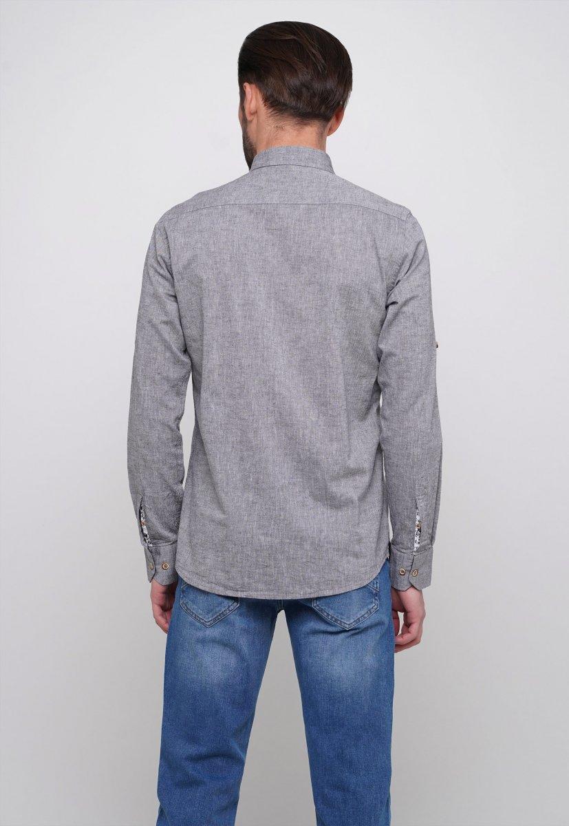Рубашка Trend Collection 7000 Серый - Фото 1