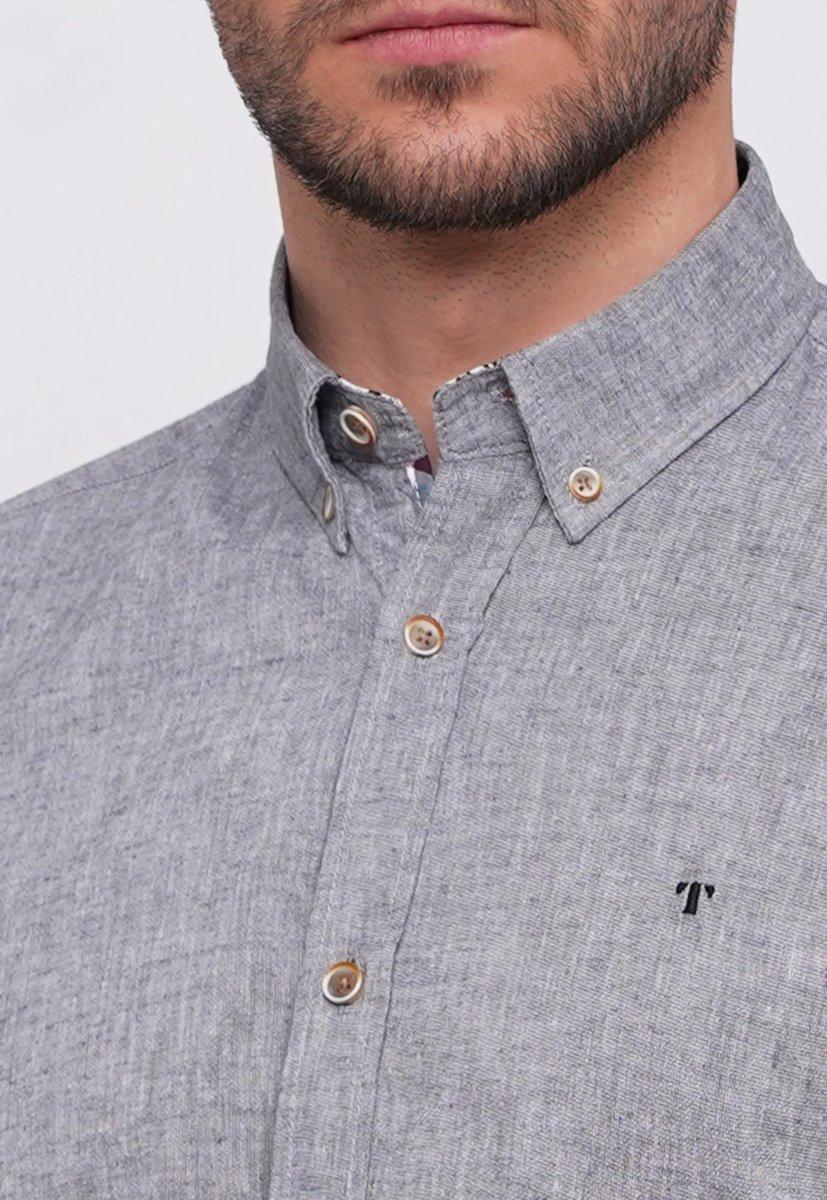 Рубашка Trend Collection 7000 Серый - Фото 2