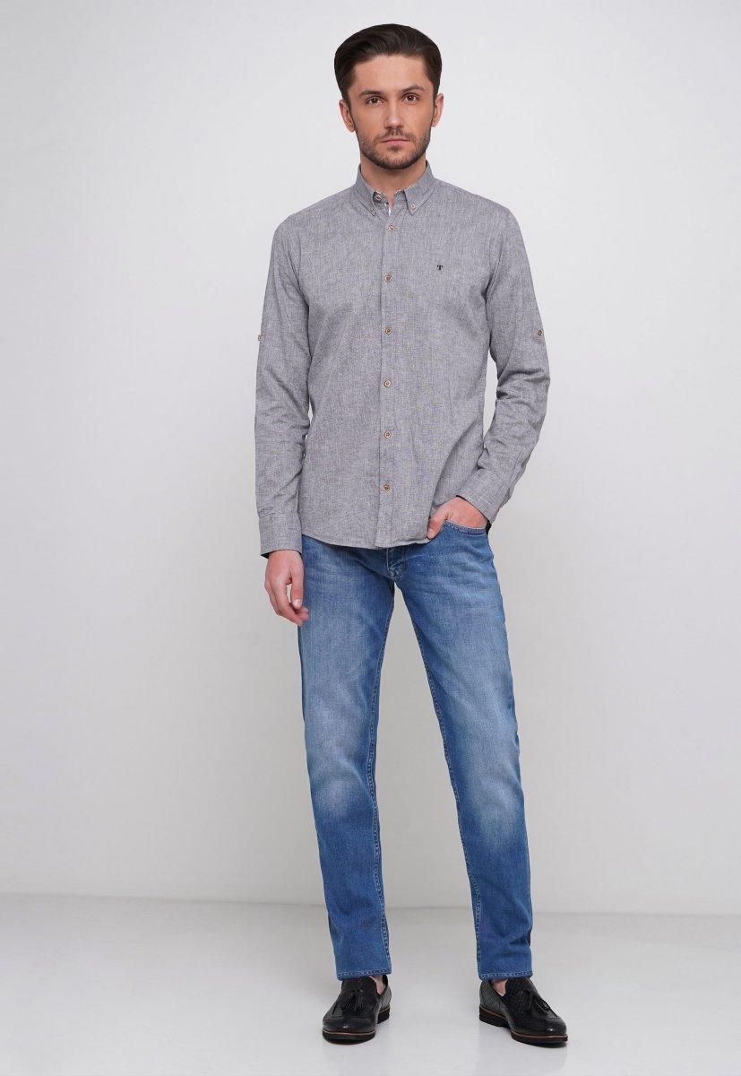 Рубашка Trend Collection 7000 Серый - Фото 3
