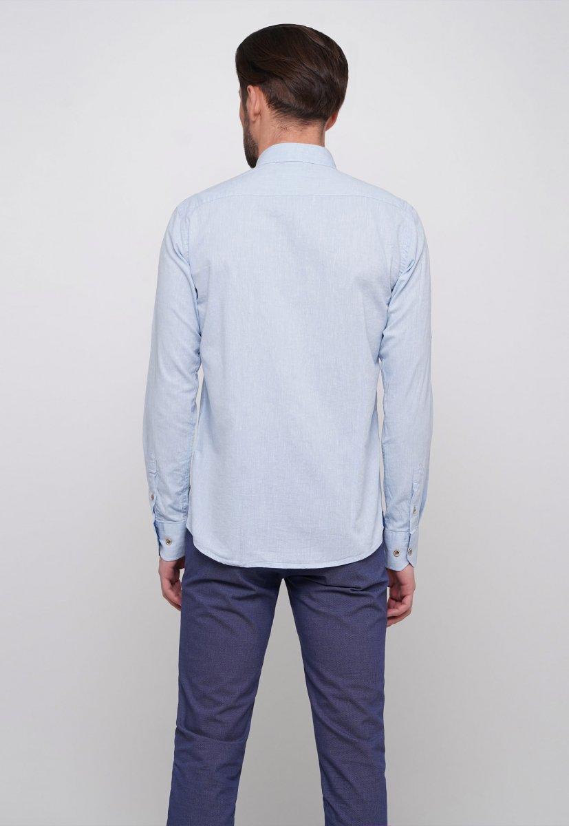 Рубашка Trend Collection 7000 Небесный - Фото 1