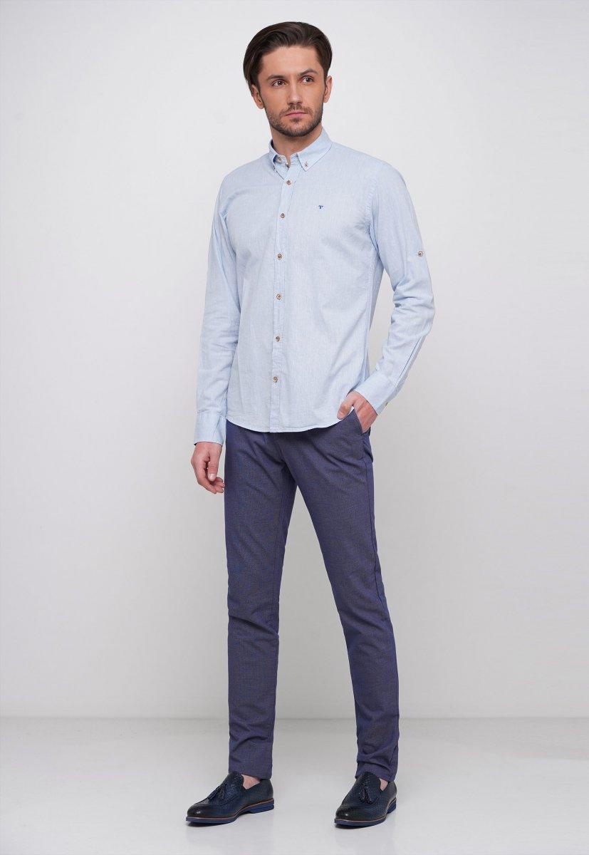 Рубашка Trend Collection 7000 Небесный - Фото 3