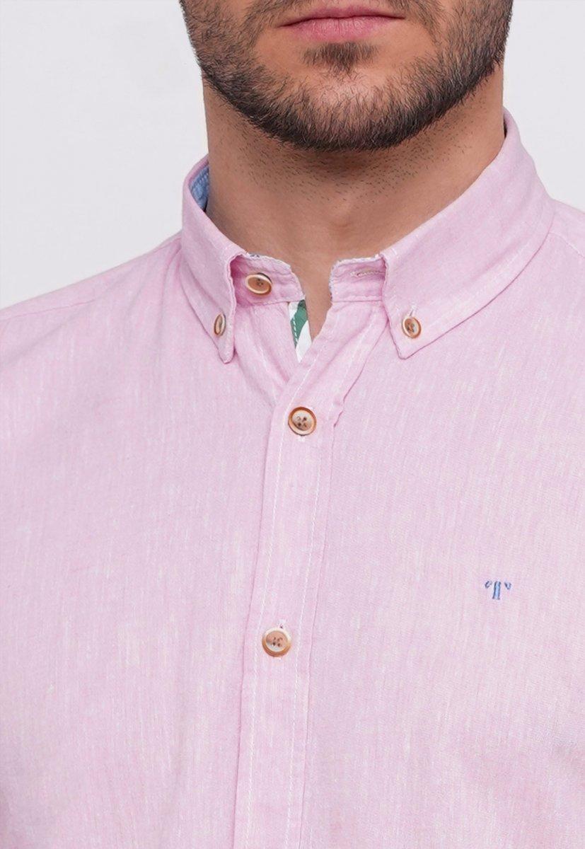 Рубашка Trend Collection 7000 Розовый - Фото 2