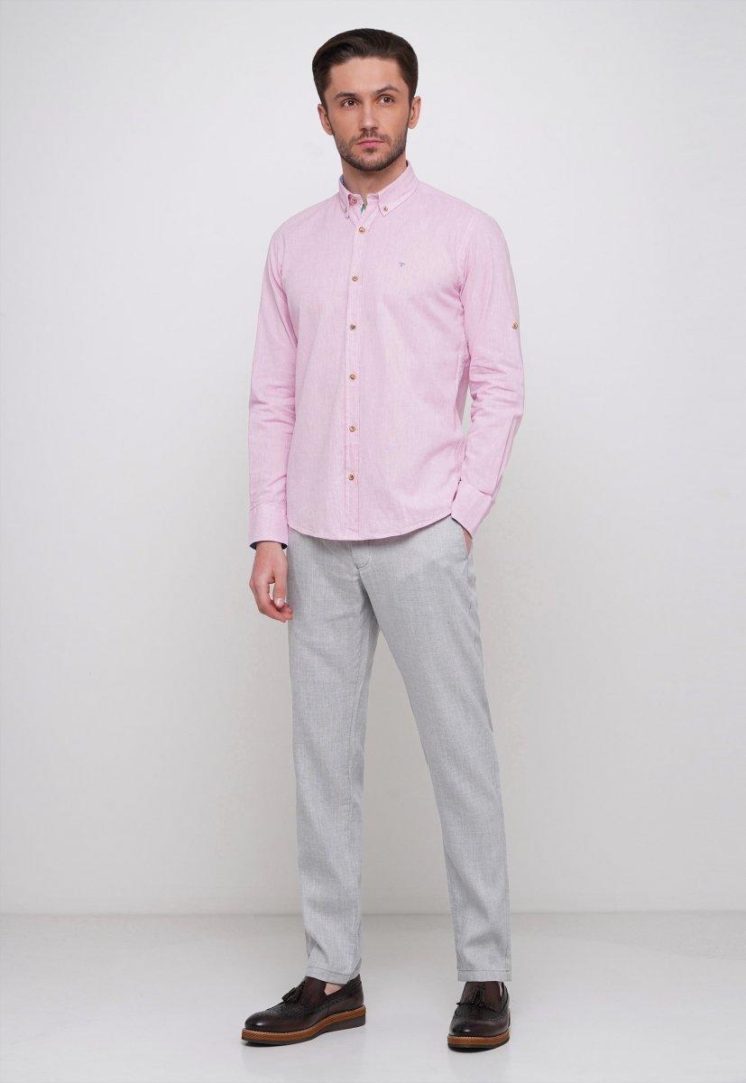 Рубашка Trend Collection 7000 Розовый - Фото 3