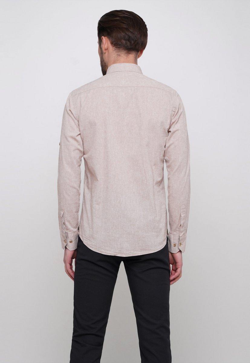 Рубашка Trend Collection 7000 Бежевый - Фото 1