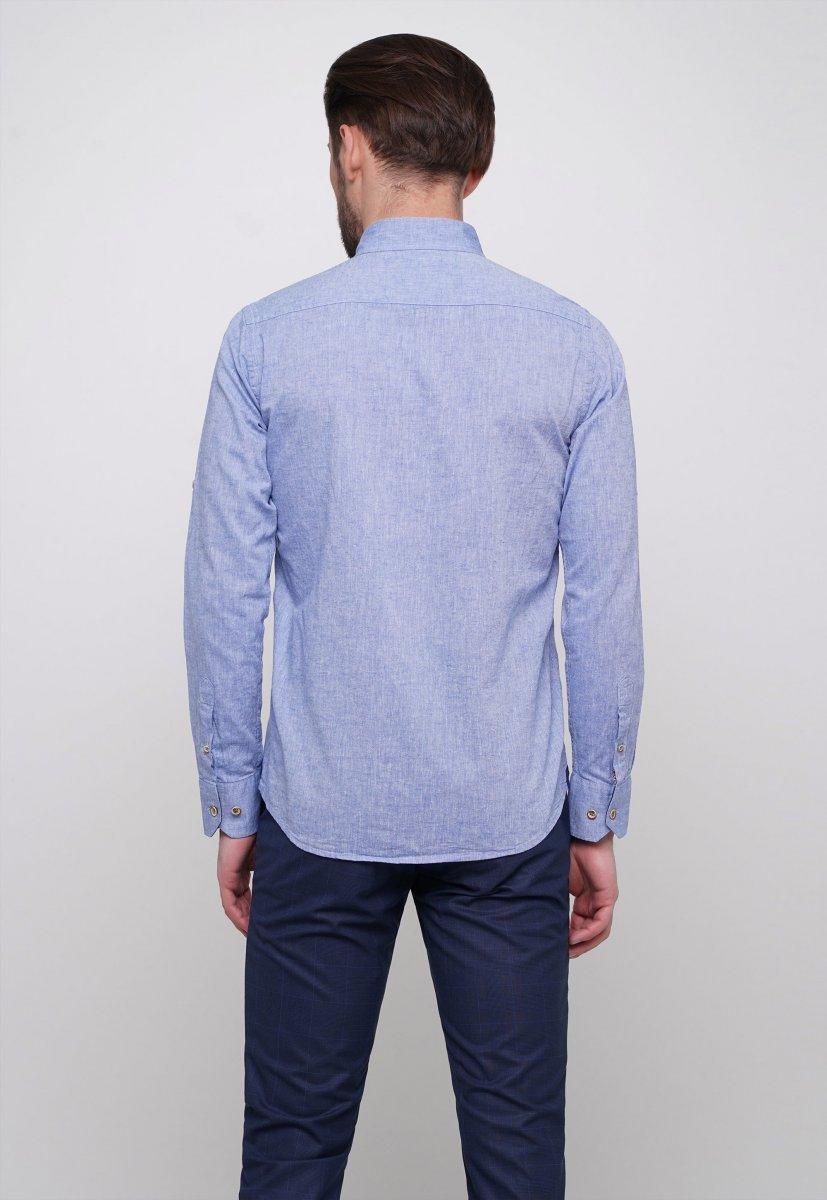 Рубашка Trend Collection 7000 Светло-синий - Фото