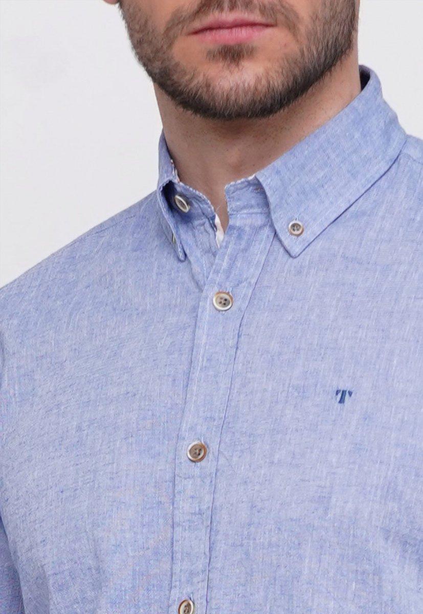 Рубашка Trend Collection 7000 Светло-синий - Фото 1