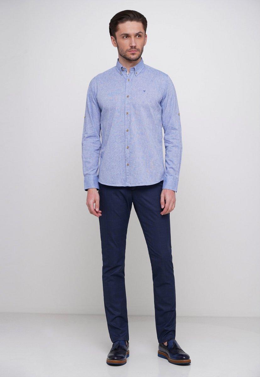 Рубашка Trend Collection 7000 Светло-синий - Фото 2