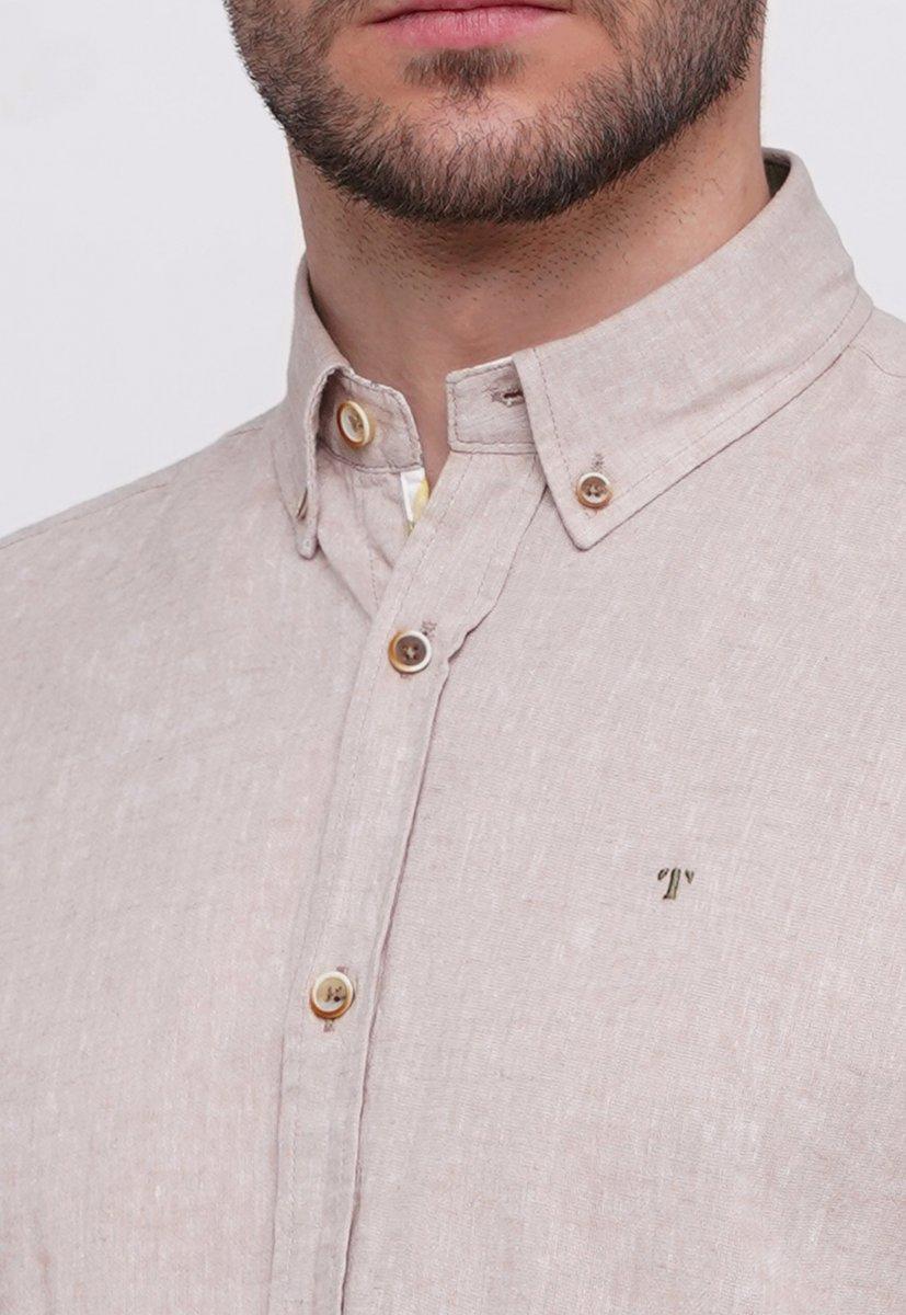 Рубашка Trend Collection 6001 Бежевый - Фото 1
