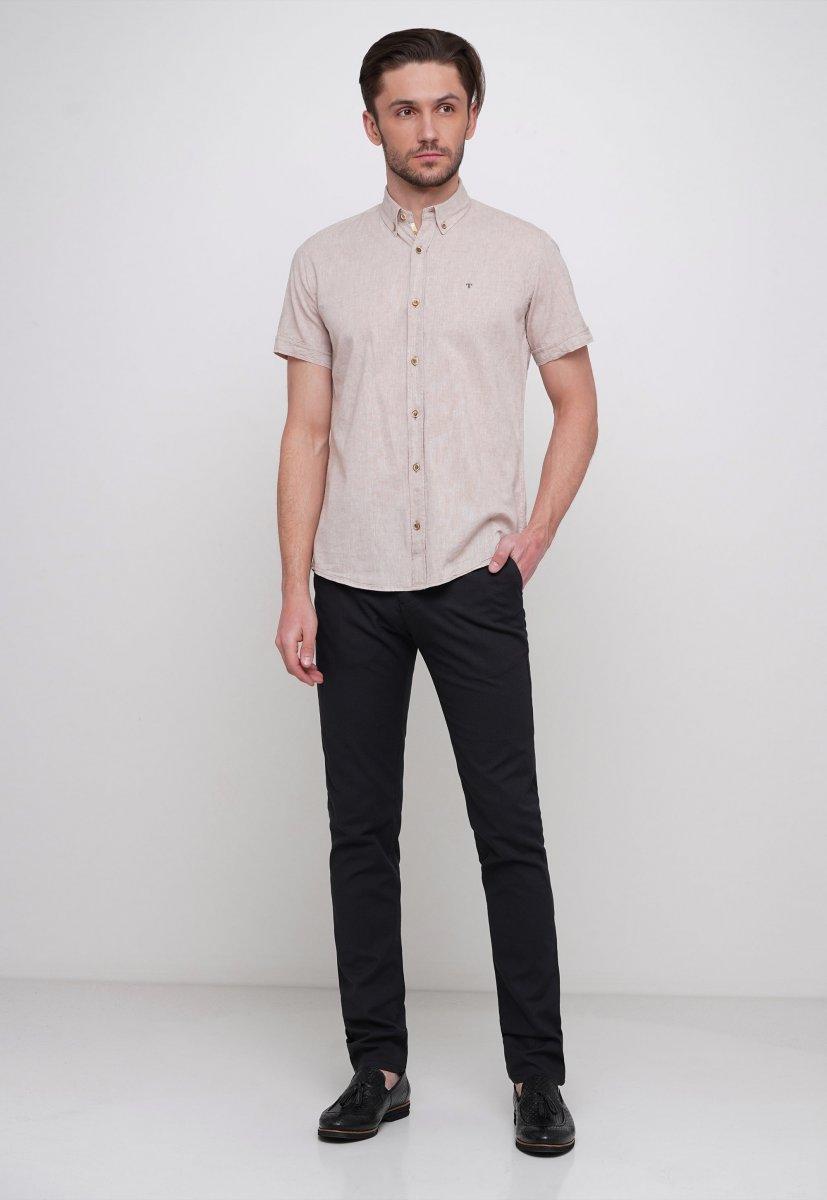 Рубашка Trend Collection 6001 Бежевый - Фото 2