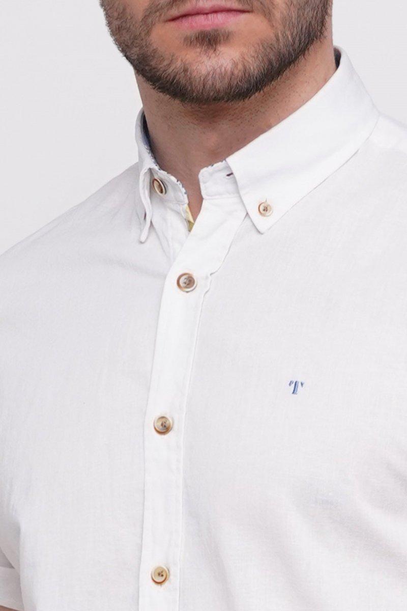 Рубашка Trend Collection 6001 Белый - Фото 1