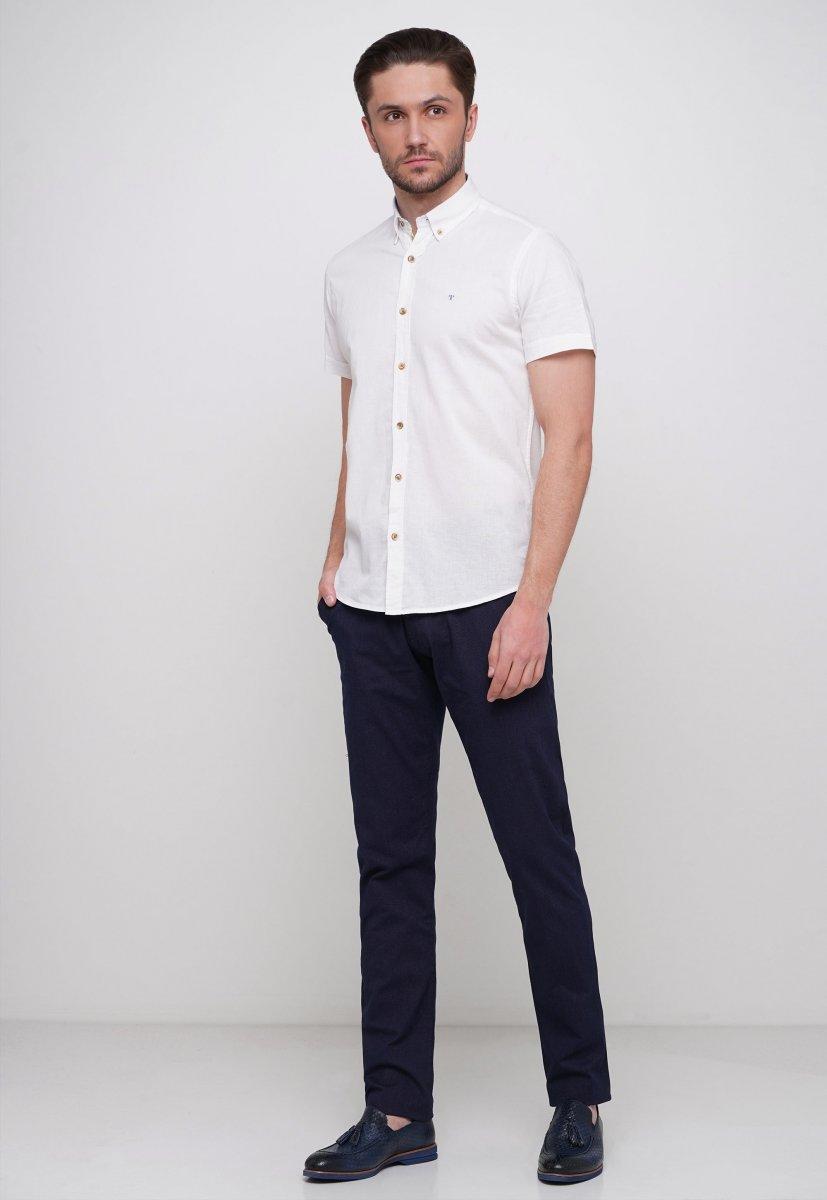 Рубашка Trend Collection 6001 Белый - Фото 2