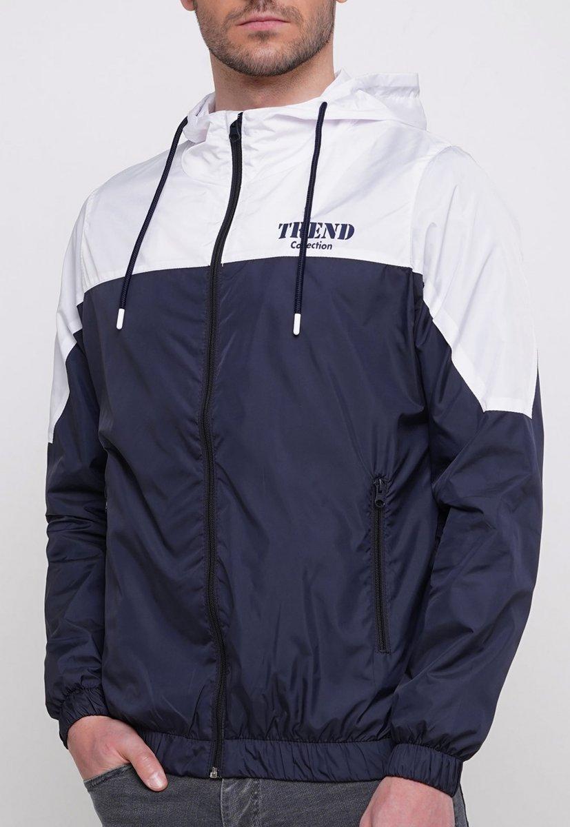 Куртка Trend Collection 20 Темно-синий + белый - Фото 2