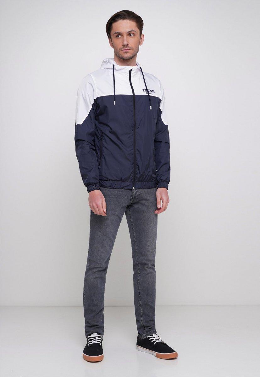 Куртка Trend Collection 20 Темно-синий + белый - Фото 3