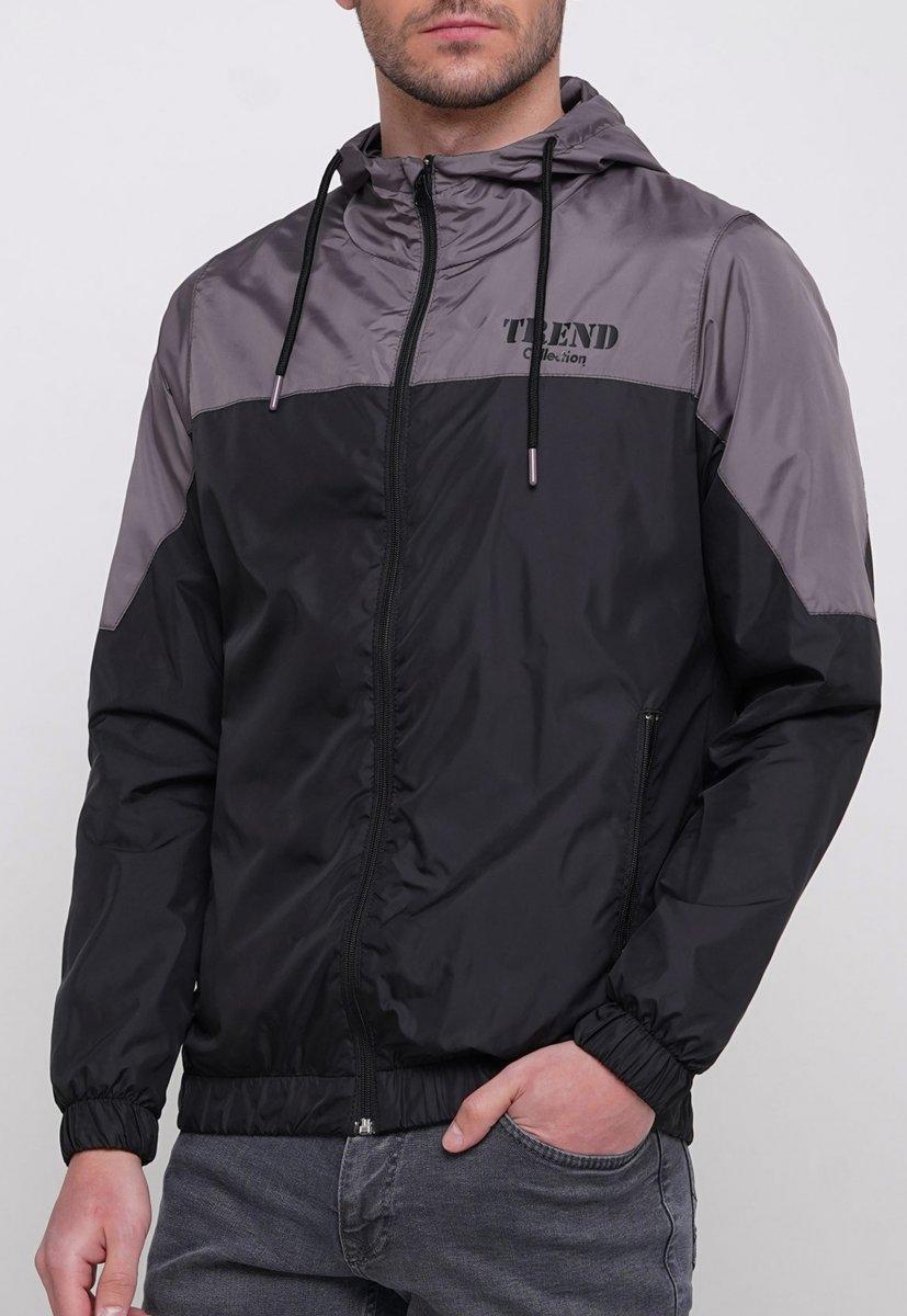 Куртка Trend Collection 20 Черный + серый - Фото 2