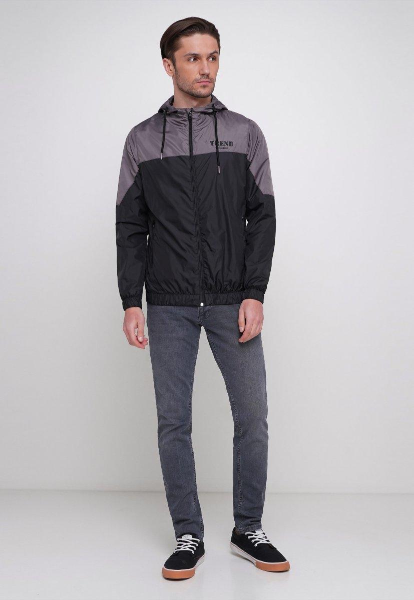 Куртка Trend Collection 20 Черный + серый - Фото 3