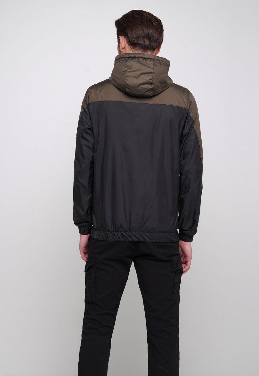 Куртка Trend Collection 20 Черный + зеленый - Фото 1