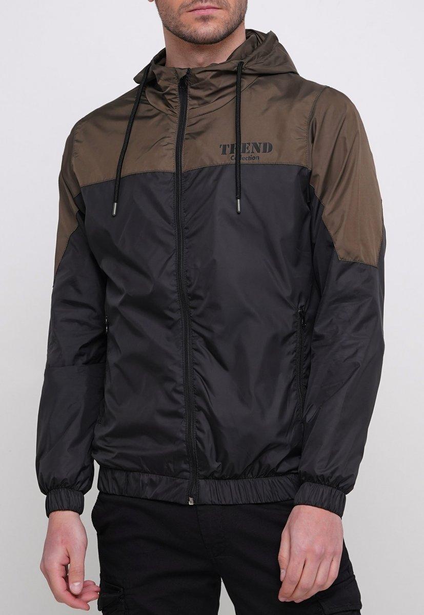 Куртка Trend Collection 20 Черный + зеленый - Фото 2