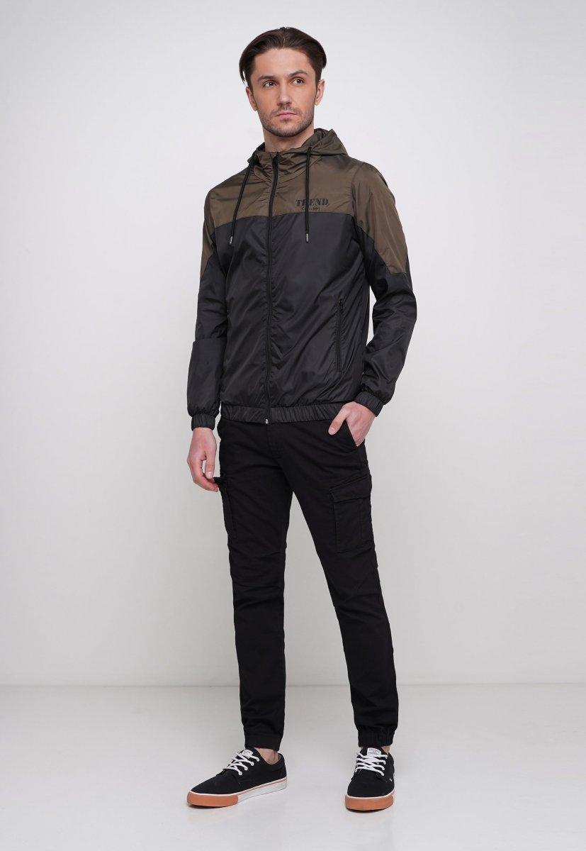 Куртка Trend Collection 20 Черный + зеленый - Фото 3