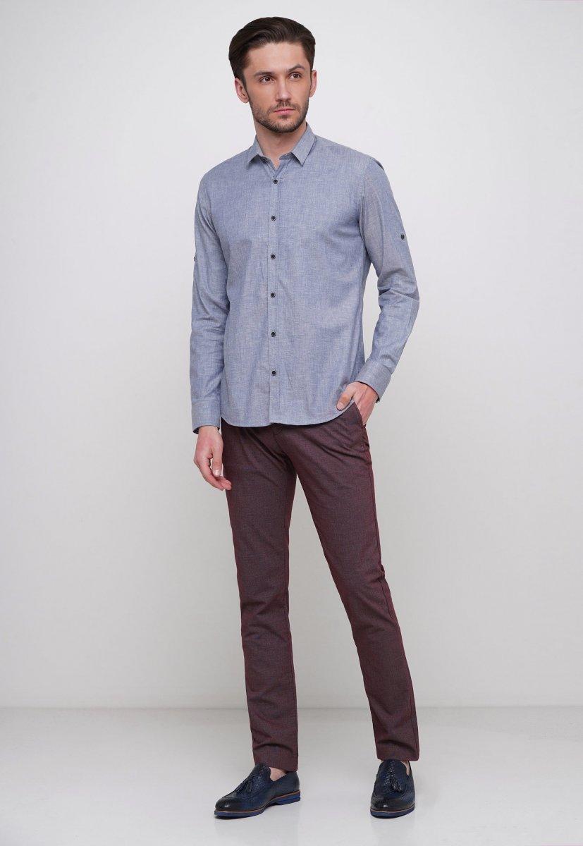 Рубашка Trend Collection 015 Синий - Фото 2