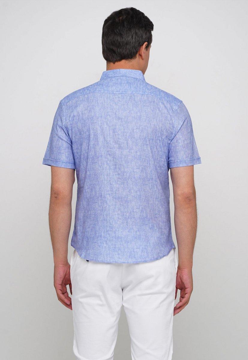 Рубашка Trend Collection 19440 Небесный - Фото