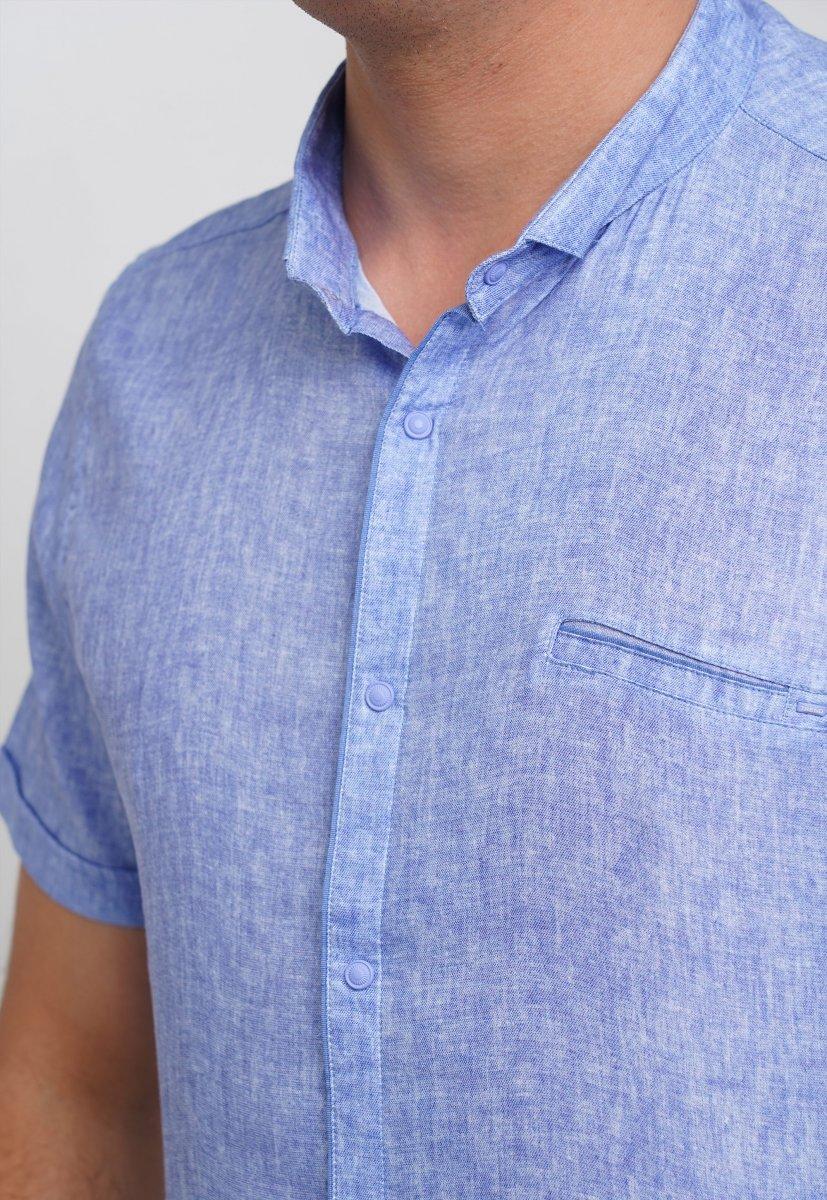 Рубашка Trend Collection 19440 Небесный - Фото 1