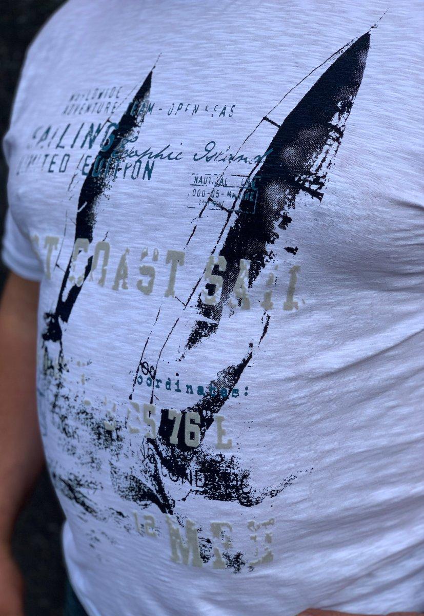 Футболка Trend Collection BAT 8853 Белый - Фото