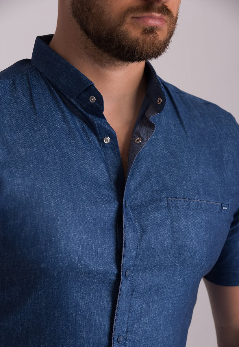 Рубашка Trend Collection 19440 Синий - Фото 1