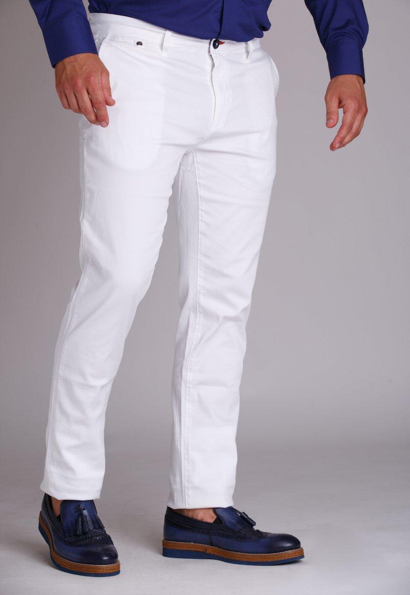 Брюки Trend Collection 942 Белый - Фото