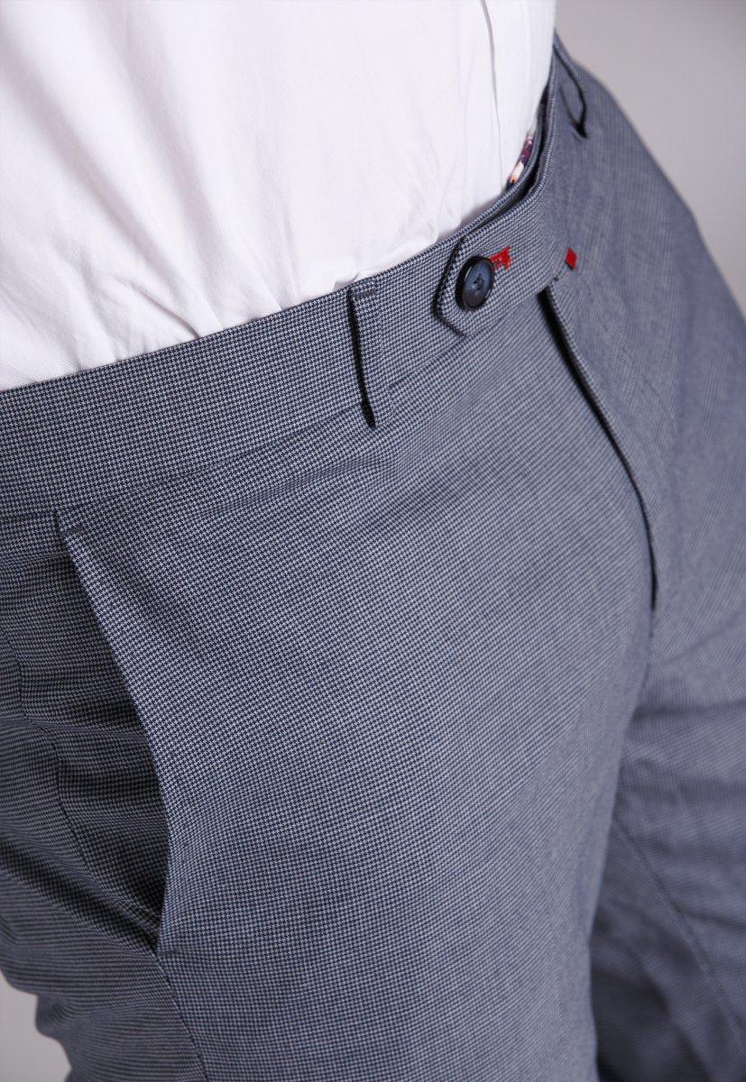 Брюки Trend Collection 945 Светло-серый+звездочка - Фото