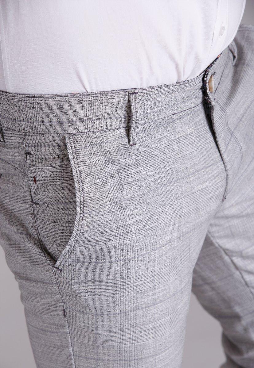 Брюки Trend Collection 3749 Светло-серый - Фото
