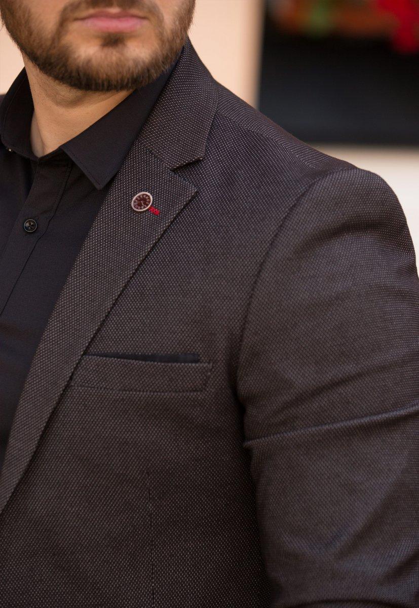 Пиджак Trend Collection 2025 Черный - Фото 2
