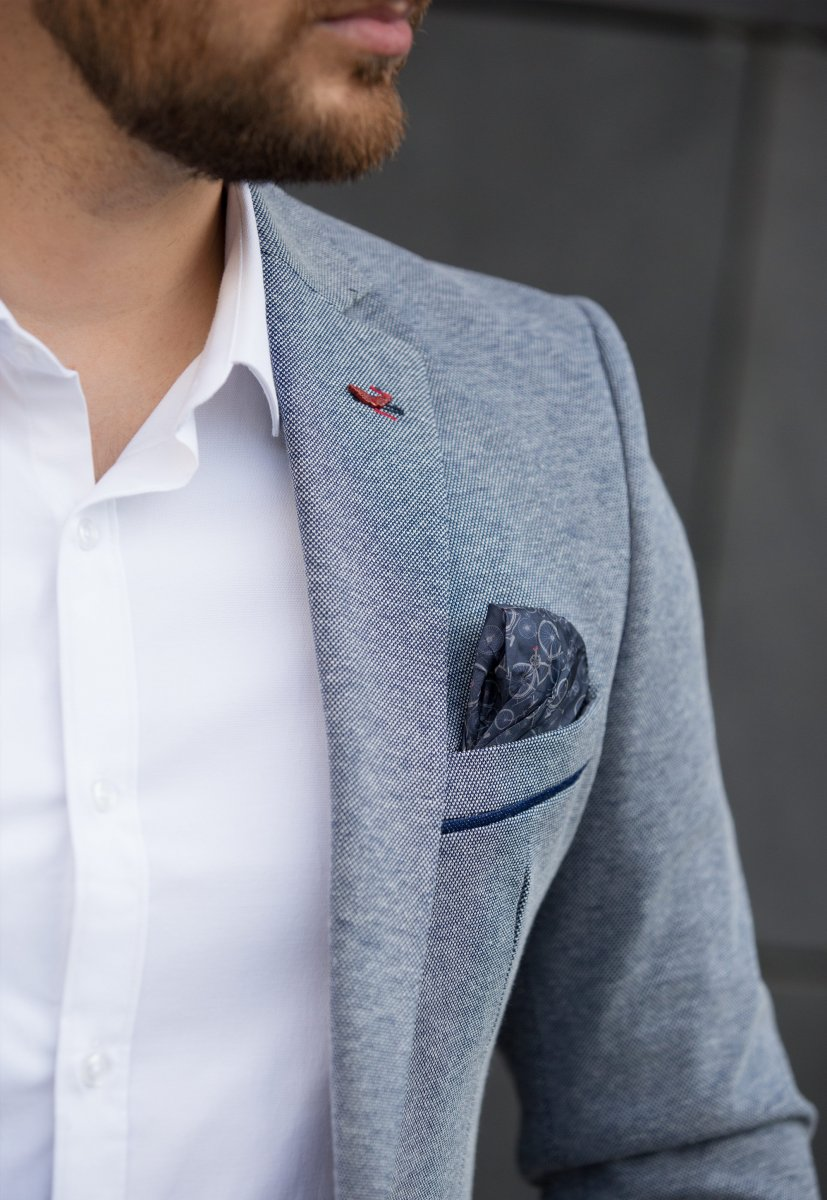 Пиджак Trend Collection 2020 Синий (Navy) - Фото 1