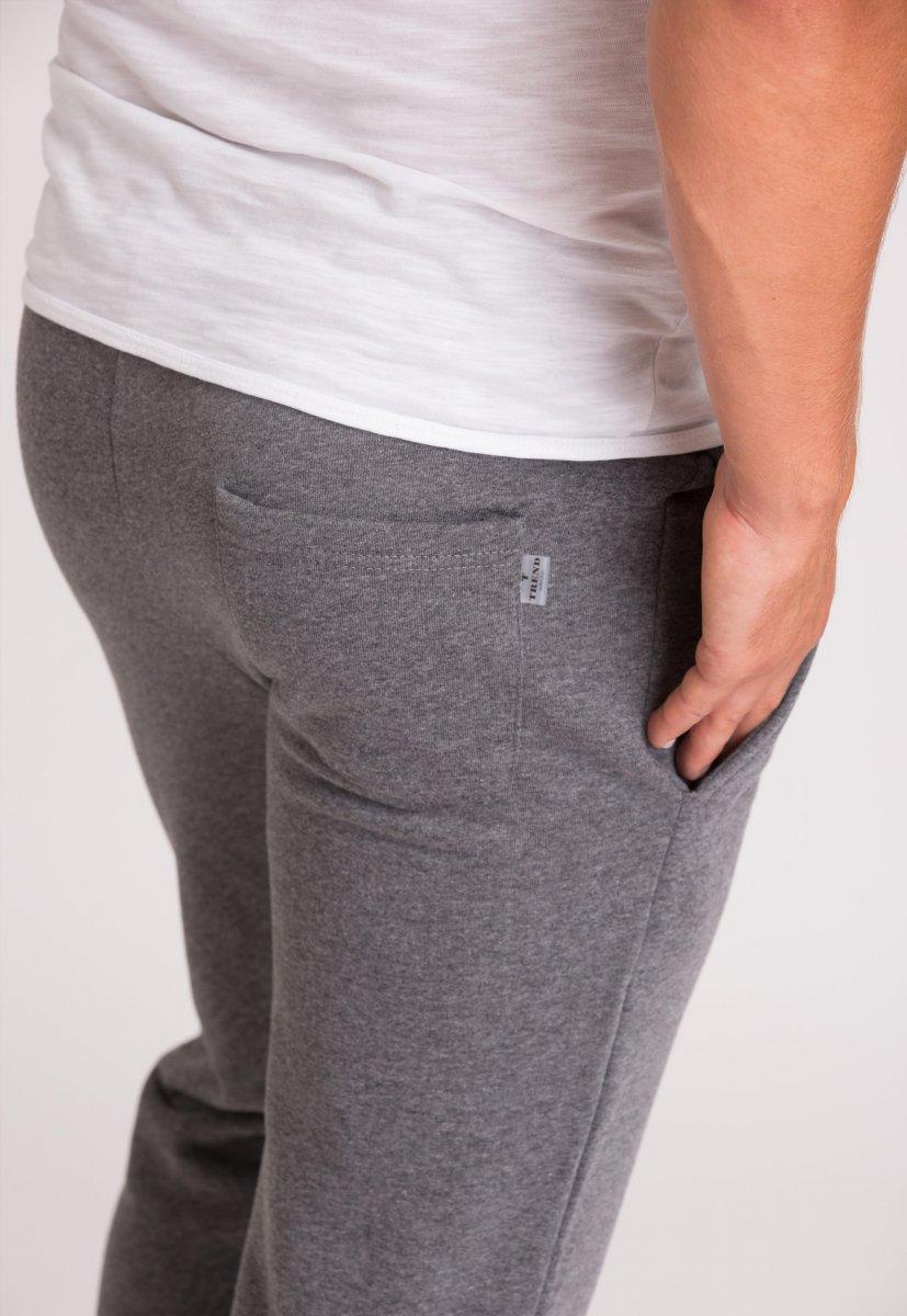 Спорт штаны Trend Collection 73009 Темно-серый - Фото