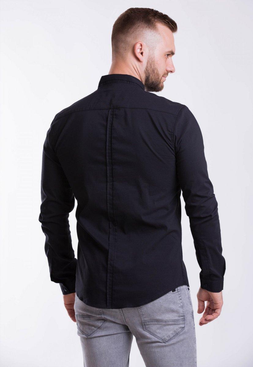Мужская рубашка Trend Collection 3414-7 Черный - Фото 1